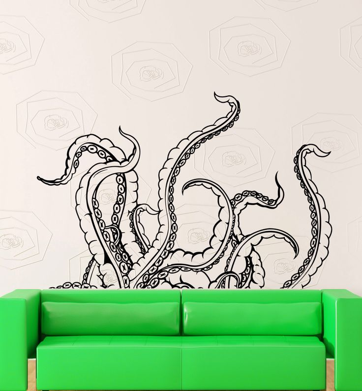 Wall Stickers Vinyl Decal Tentacles  Calmar Deep Sea Horror Scary Ocean (z2153) by Wallstickers4you on Etsy https://www.etsy.com/listing/191704916/wall-stickers-vinyl-decal-tentacles