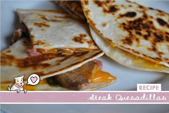 Steak quesadilla, Quesadillas and Steaks on Pinterest