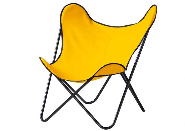 """Ikea Is Reissuing Amazing Old Designs From the 1950s and 60s This chair was actually designed by the architect Jorge Ferrari-Hardoy in the early 1940s, and it's been knocked off so consistently over the past six decades, it won't feel retro at all. In 1959, Ikea's own so-called Butterfly chair was sold to consumers as an outdoor chair for indoor use. """"Why not in the modern living room or youth room?,"""" Ikea asked of its """"sustainable and 'fun' chair."""""""