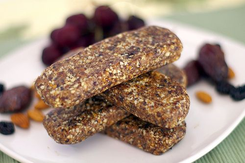 I love Larabars and even more love being able to make my own. . .so they're tweaked to my preference.