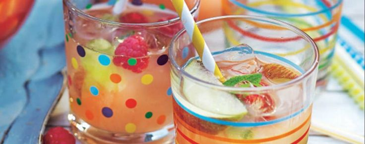 You don't want the kids or any drivers to feel left out, so mix up this refreshing, non-alcoholic punch for the summer BBQ. Find a recipe for raspberry & mint punch and more at www.asda.com/recipes.