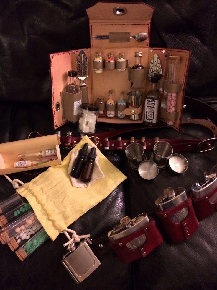 Steampunk Alchemy / Apothecary Kit - made by @Jeff Sheldon Skevington