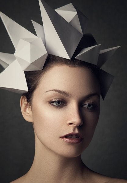 Pin by Sinead McDonnell on Millinery in 2019 | Origami hat ...