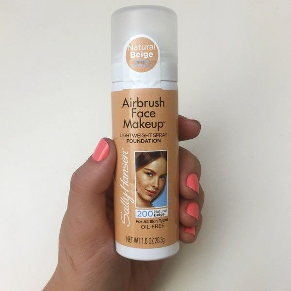 Sally Hansen's New Foundation Just Killed the Airbrush Game
