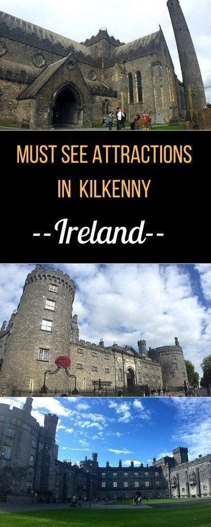 What to see and do in Kilkenny, Ireland. Stroll along the medieval mile, the historical heart of the city, marvel at St Canices' cathedral complex and round tower, walk the beautiful grounds of Kilkenny castle and enjoy the local brew. #kilkenny #ireland #irelandroadtrip #irelandtravel