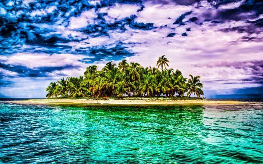 The Forgotten Island af Rasmus Bendixsen