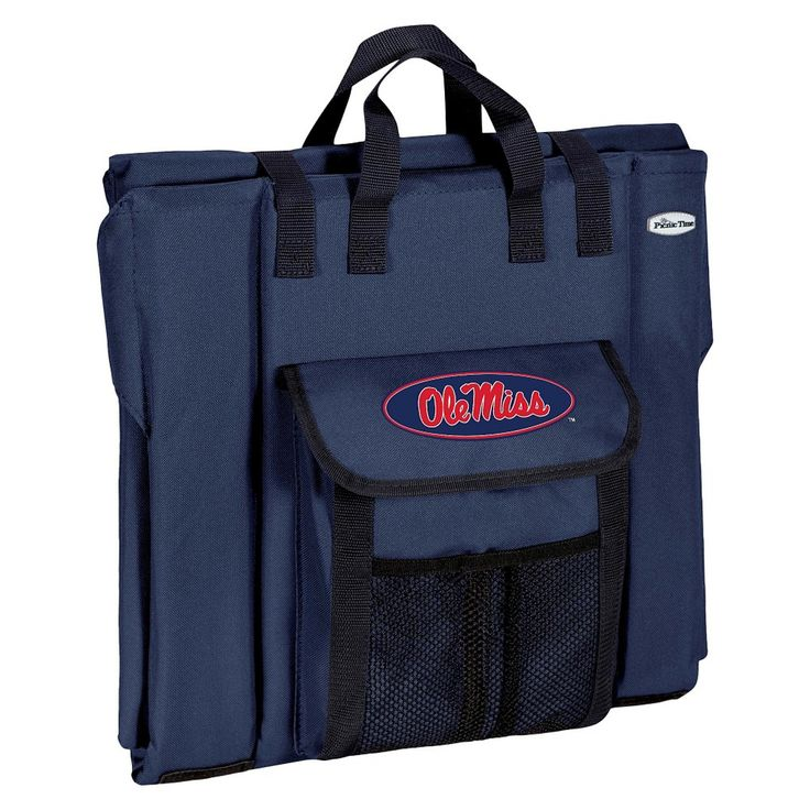 Portable Stadium Seats NCAA Ole Miss Rebels Navy