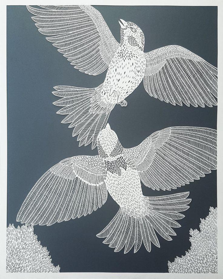 Accurate Paper Art by Pippa Dyrlaga