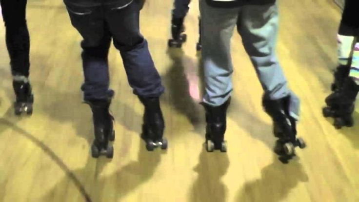 old school style roller skating dancing - video...why are there no roller rinks anymore? This is soo much fun and great exercise!