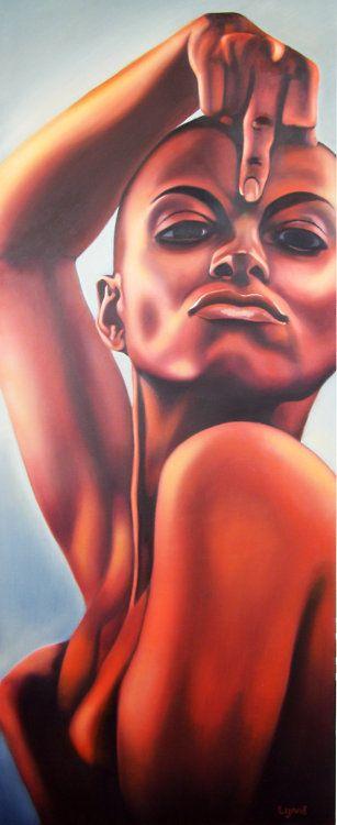 Black Women Art!, La Loba by *RuByReDaNgEL