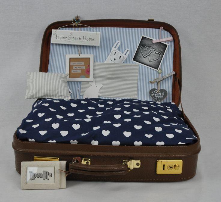 Kofferkörbchen für Hund oder Katze