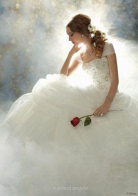 Belle Disney Wedding Dress! YES YES YES
