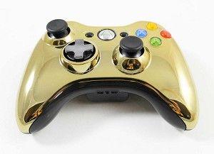 Xbox 360 Gold Chrome Special Edition Controller