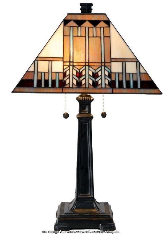 klassische TIFFANYTischlampe CITIZEN. ca. 65 cm hoch, 46
