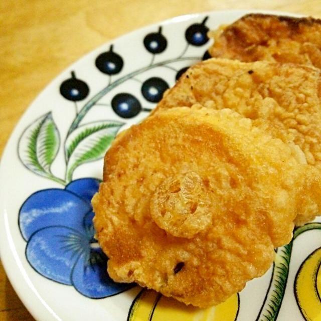 いつしかのおかず(*^^*) 安納芋はちょっぴりの岩塩だけで食べるのが好きです♪ - 139件のもぐもぐ - 安納芋の天ぷら by 徳之島トトロンヌ