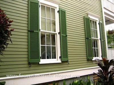 Exterior Paint Colors Combinations Green 47 best exterior paint combos images on pinterest | exterior house