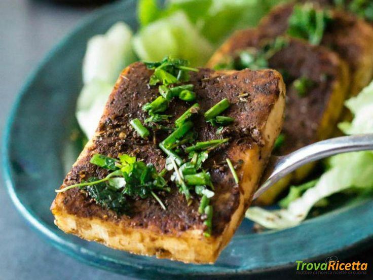 Tofu piccante alle erbe aromatiche in salsa di soia – AMC  #ricette #food #recipes