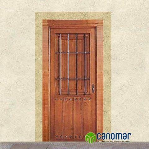 M s de 1000 ideas sobre puerta reja en pinterest rejas para ventana rejas de ventanas y rejas - Puertas canomar ...