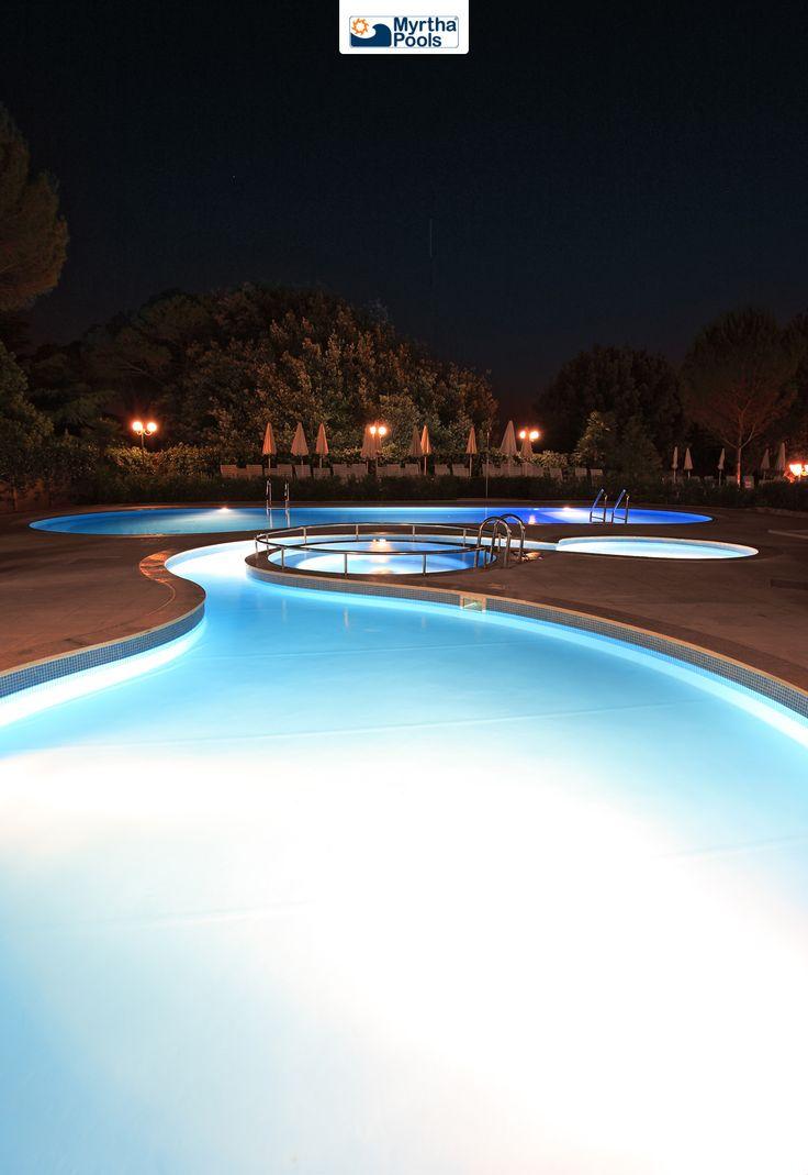 Hilton's pool in Rome