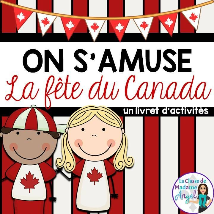 La fête du Canada!  Canada Day activity booklet in French!