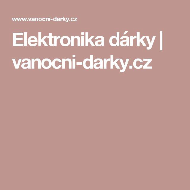 Elektronika dárky | vanocni-darky.cz