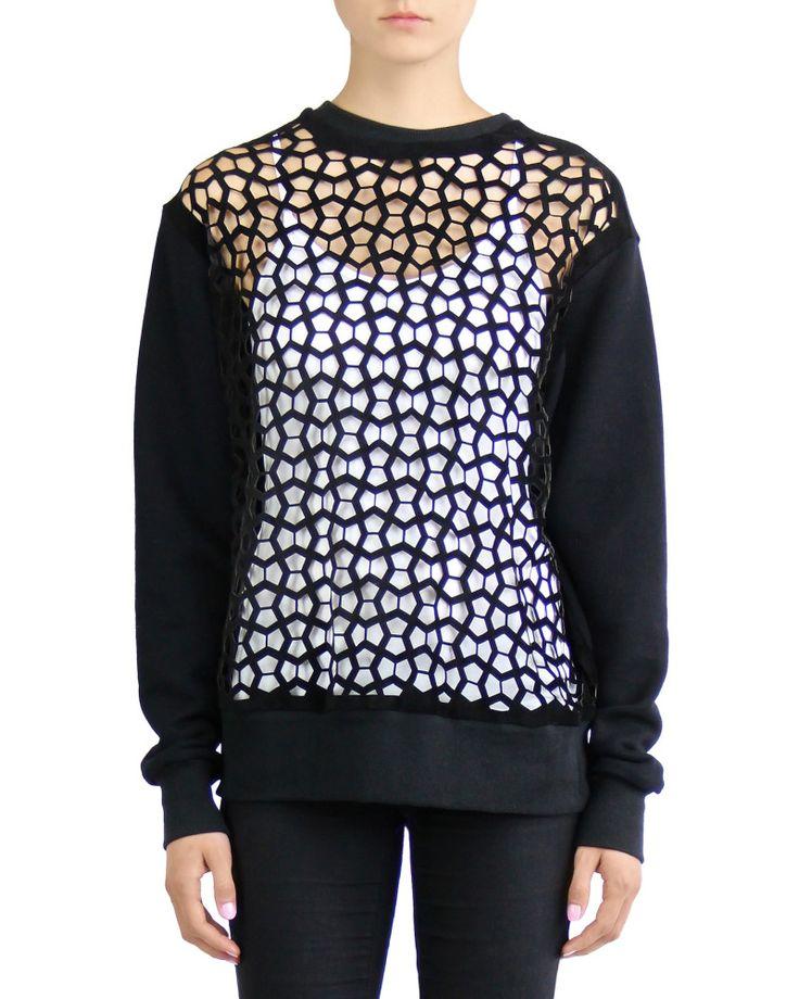 Rein London Laser Cut Sweatshirt | Nineteenth Amendment