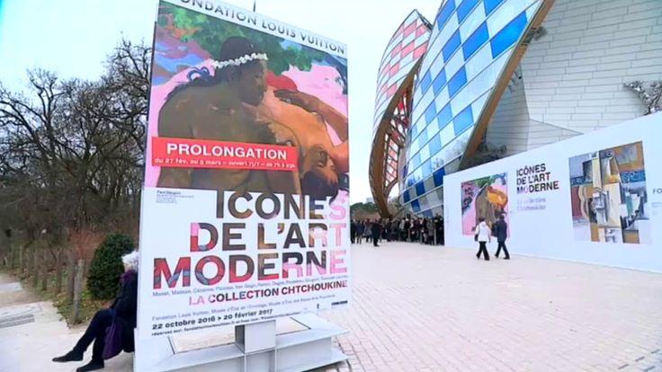 Dernière ligne droite pour visiter l'exposition Chtchoukine à la Fondation Vuitton. Elle s'achève le 5 mars mais face à l'incroyable engouement du public (plus d'un million de visiteurs en quatre mois), le site a décidé de mettre les bouchées doubles en ouvrant ses portes de 7 H a 23 H (1H du matin le samedi 4 mars). Et le petit-déjeuner est même offert par la Fondation !