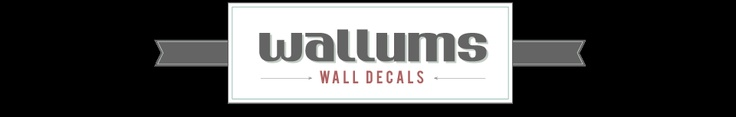 Wallums Wall Art Decals- For when I can finally decorate my walls