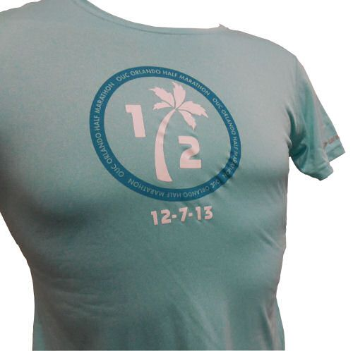 Brag Swag Merchandise for OUC Orlando Half Marathon 2013 Women's - One touch of the super-soft EZ T fabric and you'll swear it's cotton. $30