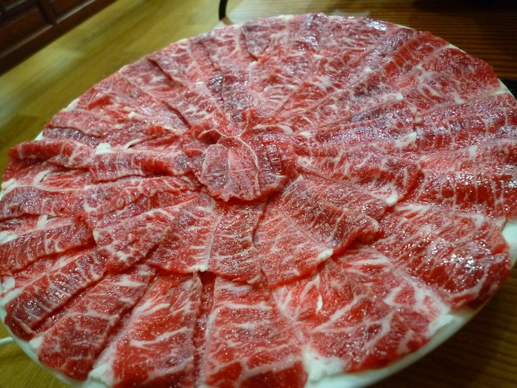 Marbled beef.   Google 이미지 검색결과: http://cfile29.uf.tistory.com/image/18330D424F58A38F26D048