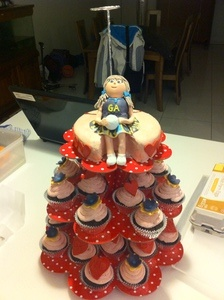 Netball cake for 9 year old girl