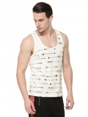 BREAKBOUNCE Arrow Printed Vest