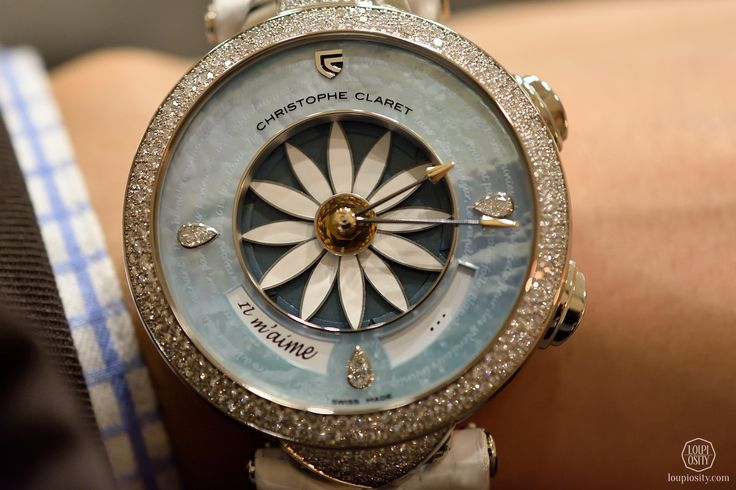 Christophe Claret, Margot with light blue mother-of-pearl dial - Girls don't just wanna have fun – Part 7
