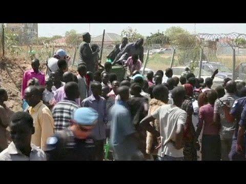 South Sudan at risk of civil war, UN warns - YouTube  video