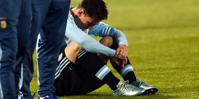 Messi falla con Argentina y Chile levanta la Copa America http://j.mp/1ICvALO |  #Argentina, #Chile, #CopaAmerica, #Messi, #Sobresalientes