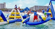 Water park on the beach @ Trade Winds Resort in Tampa, FL