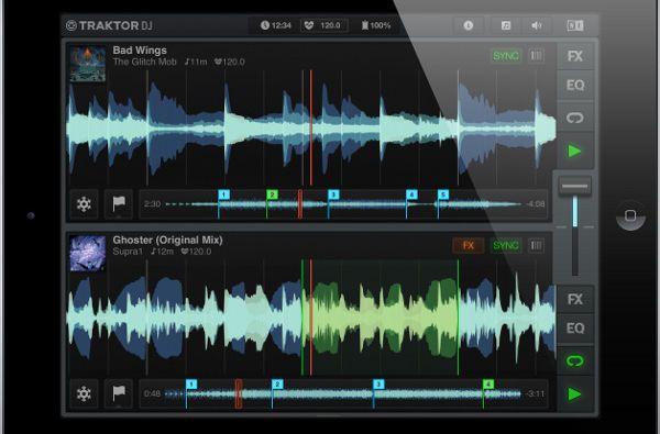 Native InstrumentsがiPad用DJアプリ「TRAKTOR DJ」をリリース