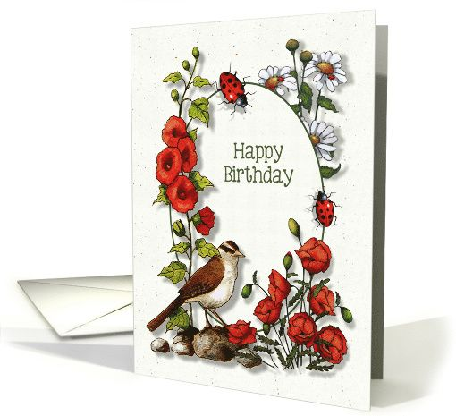 236 best Greeting Card Universe images – Nature Birthday Card