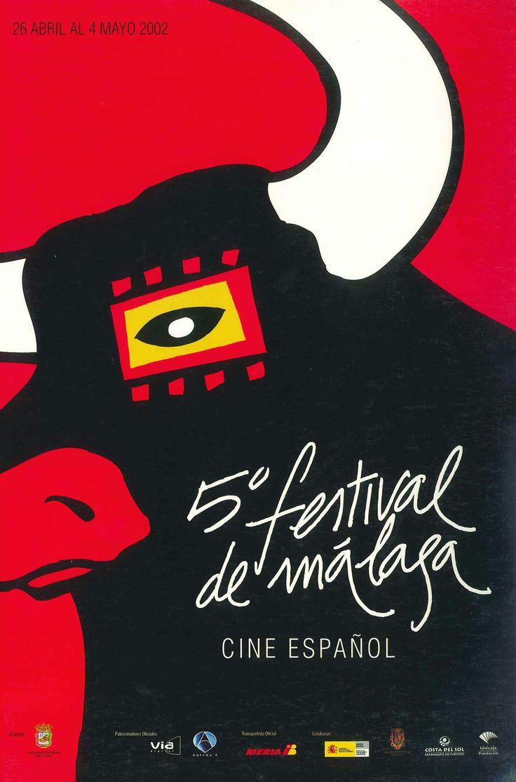 Cartel Festival Cine Malaga 2002