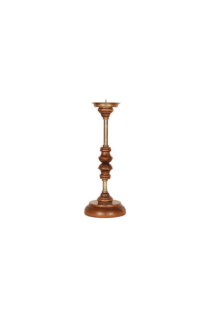 Подсвечник для одной свечи. Материал: Антикварное дерево http://oneclub.ua/podsvechnik-23776.html#product_option716