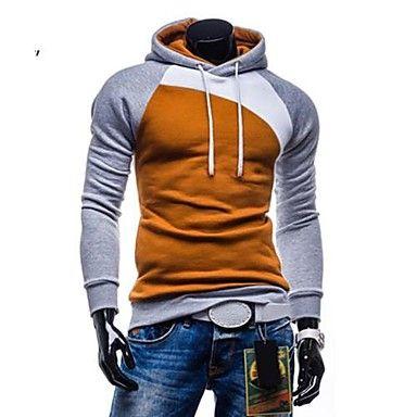 mannen casual mode sport dikke hoodie sweatshirt 2015 – $19.45