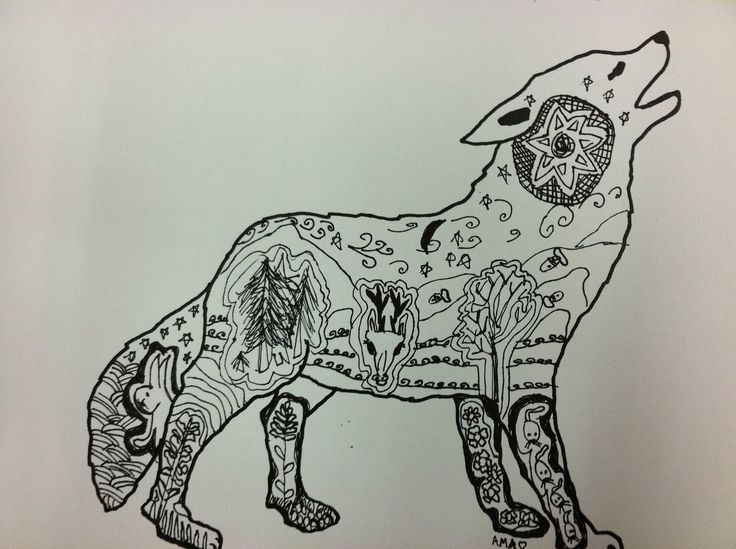 dogArt Lessons, Animal Projects, 2Nd Grades, Habitat Art, Art Projects For Student, Art Ideas, Zentangle Habitat, Animal Habitat, Classroom Art