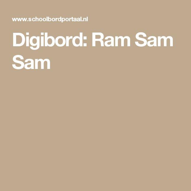 Digibord: Ram Sam Sam
