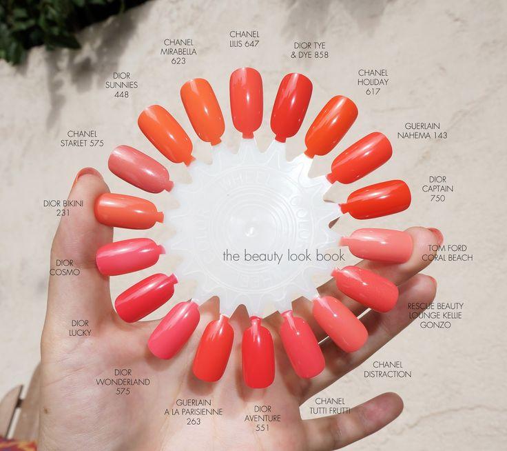 Chanel nail polish comparison. Reflets D'Été de Chanel Summer Collection  2014. Chanel - Best 25+ Coral Nail Polish Ideas On Pinterest Summer Nail Polish