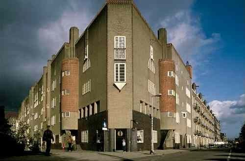 Amsterdamse School. One of the finest examples of pre-war design