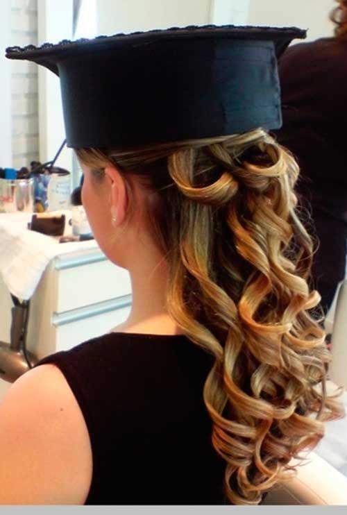 40 modelos de penteado para a sua formatura e colação de grau, um mais fofo que o outro! #penteadoparafesta #formatura #colação http://salaovirtual.org/cabelos-penteados-formatura/