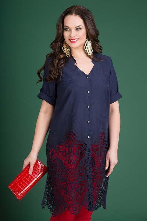 f30bc18d801 Коллекция женской одежды больших размеров белорусского бренда Liliana весна-лето  2019