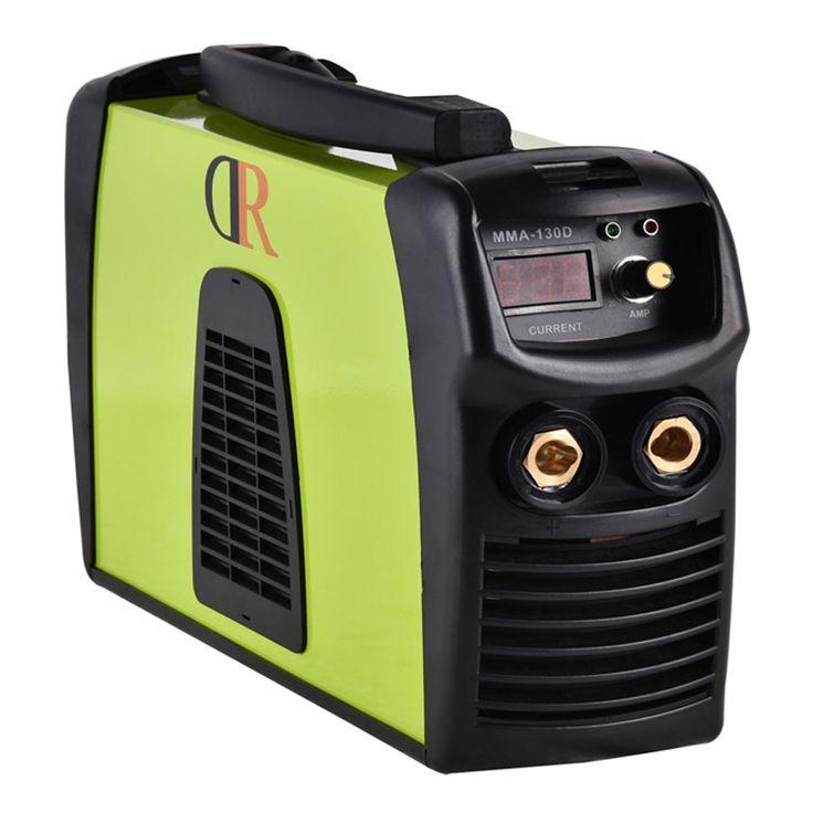 Power MMA-130D Stick Lightweight Portable Welder Machine With Voltage Transfer Plug