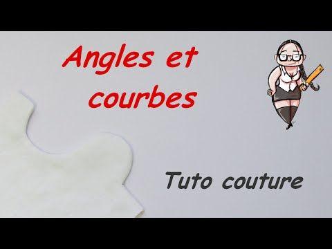 Tutoriel - Coudre des angles et des courbes - YouTube