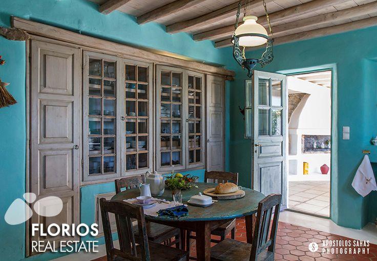 Villa for Sale in Agrari, Mykonos island Greece (6 bedrooms – 6 baths). FL1494 http://www.florios.gr/en/Villas-For-Sale-Mykonos-Island-Greece.html
